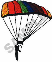 PARASAIL embroidery design