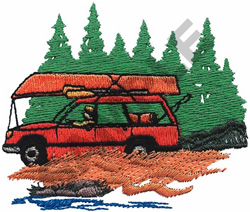 THE GREAT OUTDOORS embroidery design