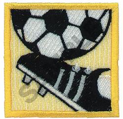 SOCCER EMBLEM embroidery design