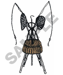 FLY FISHING MONTAGE embroidery design