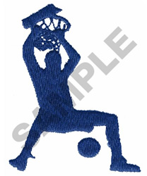 SLAM DUNKER embroidery design