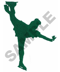 FIGURE SKATER embroidery design