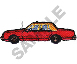 TAXI CAB embroidery design