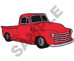 48  TRUCK embroidery design
