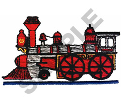 LOCOMOTIVE embroidery design