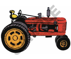 FARM-ALL TRACTOR embroidery design