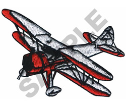 WACO AIRPLANE embroidery design