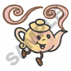 CHILDRENS LITTLE TEAPOT embroidery design