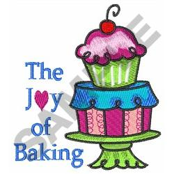 THE JOY OF BAKING embroidery design