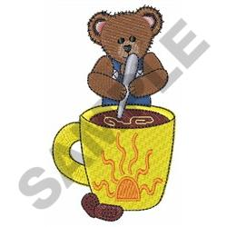 MORNING COFFEE embroidery design