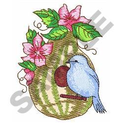 GOURD BIRDHOUSE embroidery design