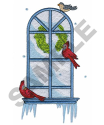 WINTER VIEW embroidery design