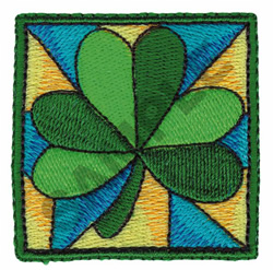 CLOVER LEAF embroidery design