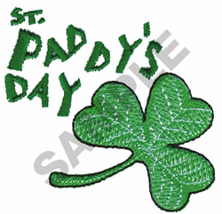 ST. PADDYS DAY embroidery design