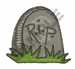 R.I.P. embroidery design
