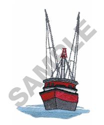 TRAWLER embroidery design