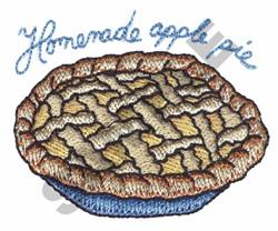 HOMEMADE APPLE PIE embroidery design