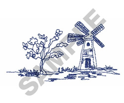 TOILE embroidery design