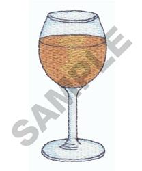 WINE GLASS embroidery design