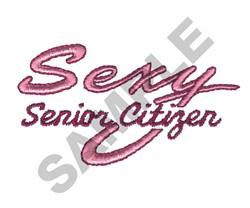 SEXY SENIOR CITIZEN embroidery design