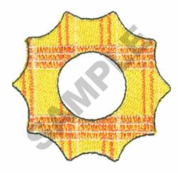 PLAID SHAPE embroidery design
