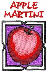 APPLE MARTINI embroidery design