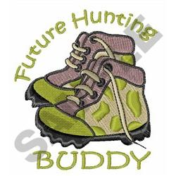 FUTURE HUNTING BUDDY embroidery design