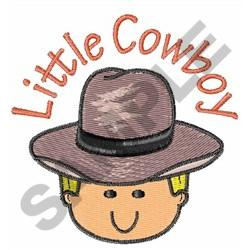 LITTLE COWBOY embroidery design