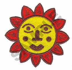 AZTEC SUN embroidery design