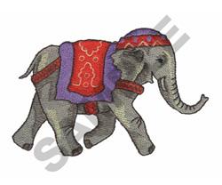 NOMADIC ELEPHANT embroidery design