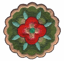 BOHEMIAN BLOOM embroidery design