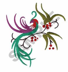 ASIAN BIRD embroidery design