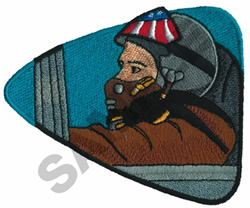 NAVAL AVIATOR embroidery design