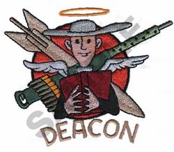 DEACON NOSE ART embroidery design