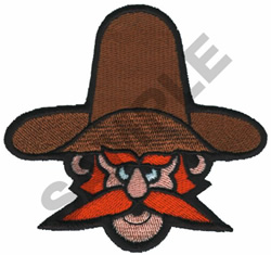 CARTOON OUTLAW embroidery design