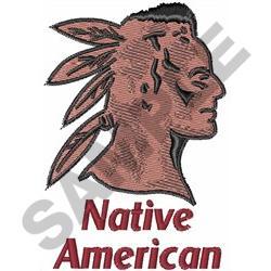 NATIVE AMERICAN embroidery design