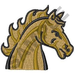 MUSTANG HORSE embroidery design