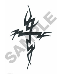 THORNY CROSS embroidery design