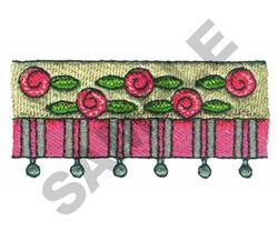 VALANCE BORDER embroidery design