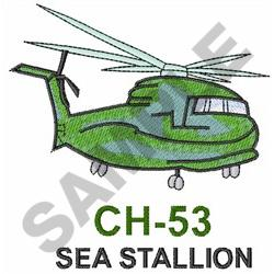 CH-53 SEA STALLION embroidery design