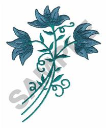 PENNSYLVANIA BLUE& WHITE embroidery design
