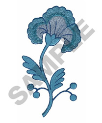 BLUMING FLOWER embroidery design