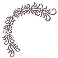 FLORAL EMBLEM embroidery design