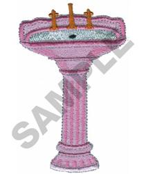 PORCELAIN SINK embroidery design