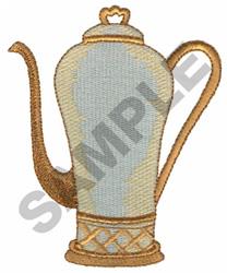 TEA URN embroidery design