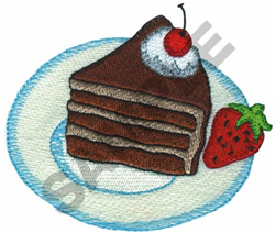 PIECE OF CAKE & STRAWBERRY embroidery design