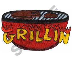GRILLIN embroidery design