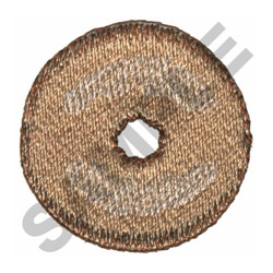 DONUT embroidery design