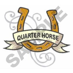 HORSESHOE BANNER embroidery design