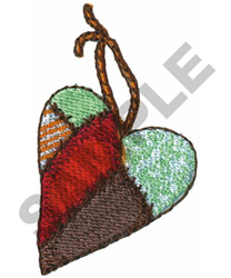 PATCHWORK HEART embroidery design